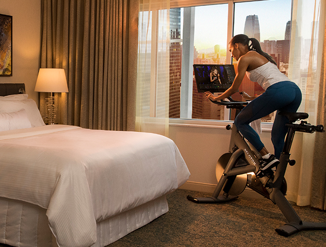 in-room fitness for travelers