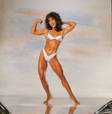 Pioneer of female bodybuilding